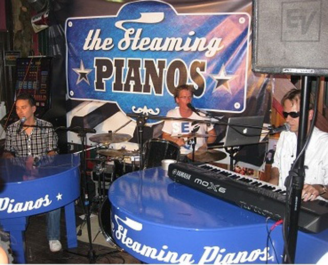 Steaming Pianos